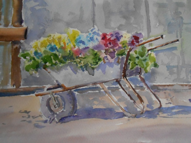 08-31 Barrow of Pansies