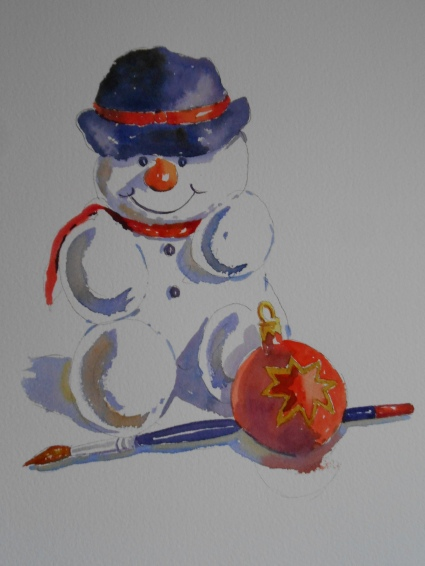 12-06 Snowman
