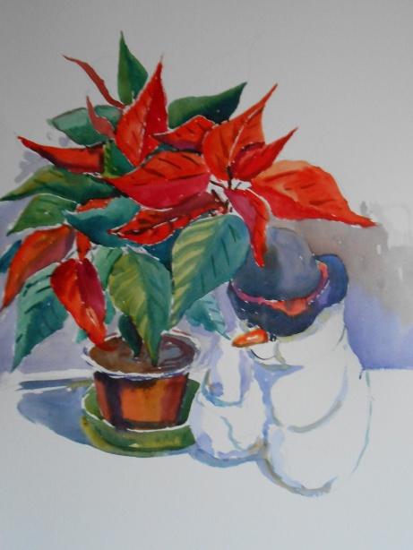 12-10 Christmas ponsiettia