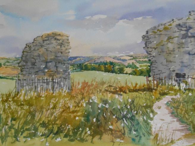 10-08 Castle walls