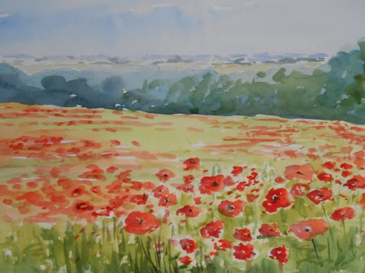 06-09 Edge of the poppy field