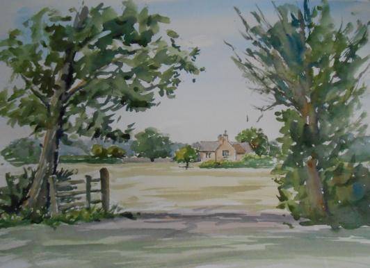 06-16 Towards the farmhouse